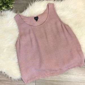 Eileen Fisher Pink Camisole - Large